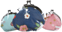 you will receive a Gamaguchi coin purse for free.
